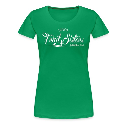 Iowa Trail Sister Plus Size- keep calm - Women's Premium T-Shirt