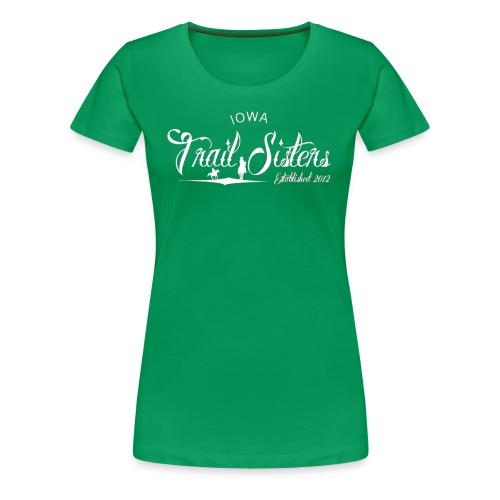 Iowa Trail Sister Plus Size- keep calm - Women's Premium T-Shirt