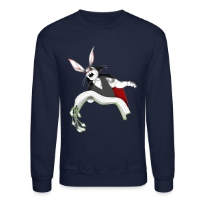 Bunny Vamp Men's Long Sleeve T-Shirt - Crewneck Sweatshirt