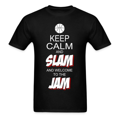 Keep Calm and Slam - Men's T-Shirt