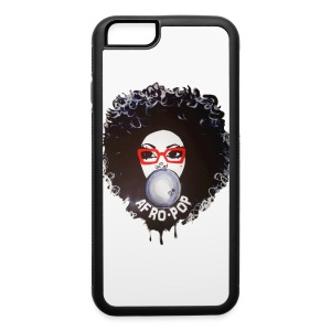 Afro pop iphone6 - iPhone 6/6s Rubber Case