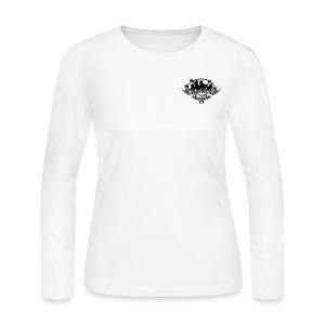 Barley's Angels Long Sleeve Crew-  Breast printed - Women's Long Sleeve Jersey T-Shirt