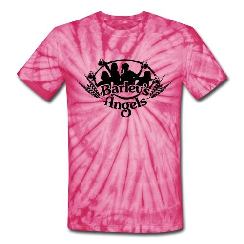 Barley's Angels Pink Tie Dye - Unisex Tie Dye T-Shirt
