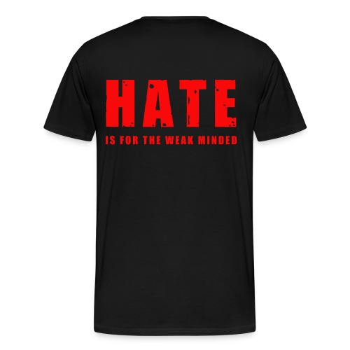 No Hate - Men's Premium T-Shirt