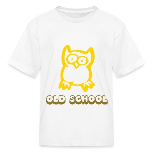 Old School Hoot Owl Child Tee - Kids' T-Shirt