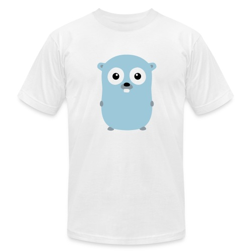 Gopher Go Golang - Men's Fine Jersey T-Shirt