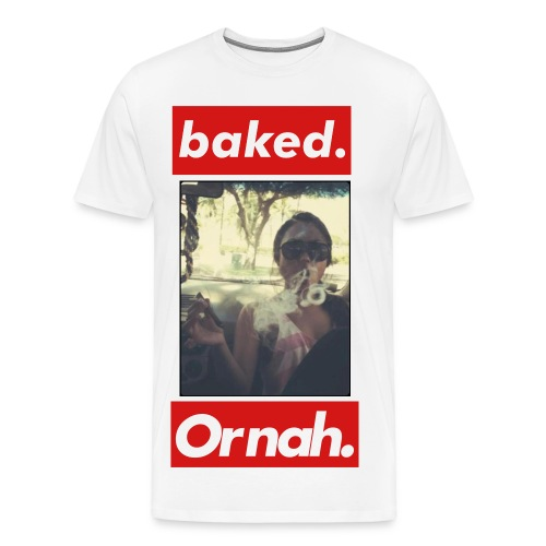 Baked or nah - Men's Premium T-Shirt