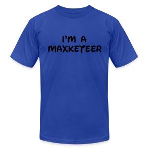 Men's I'm a Maxketeer American Apparel T-Shirt - Men's Fine Jersey T-Shirt