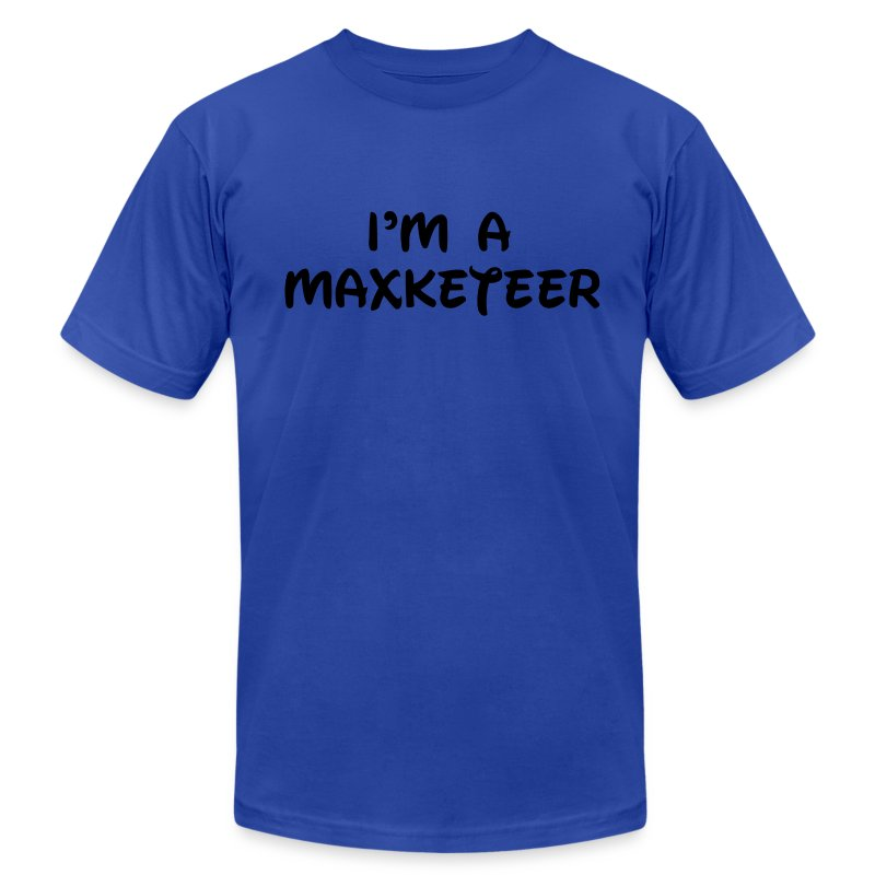 Men's I'm a Maxketeer American Apparel T-Shirt - Men's T-Shirt by American Apparel