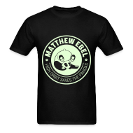 T-Shirts ~ Men's T-Shirt ~ Glowing Panda Shirt