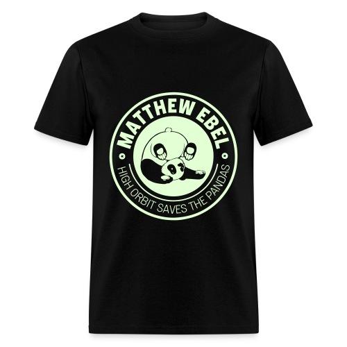 Glowing Panda Shirt - Men's T-Shirt
