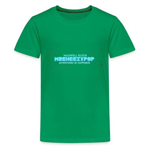 Kids mrcheezypop Adventures In Happiness Map T-Shirt - Kids' Premium T-Shirt