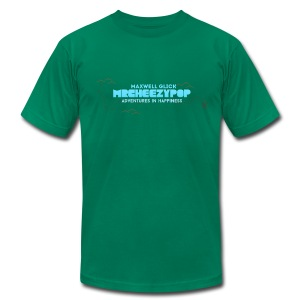 Men's mrcheezypop Adventures In Happiness American Apparel T-Shirt - Men's T-Shirt by American Apparel