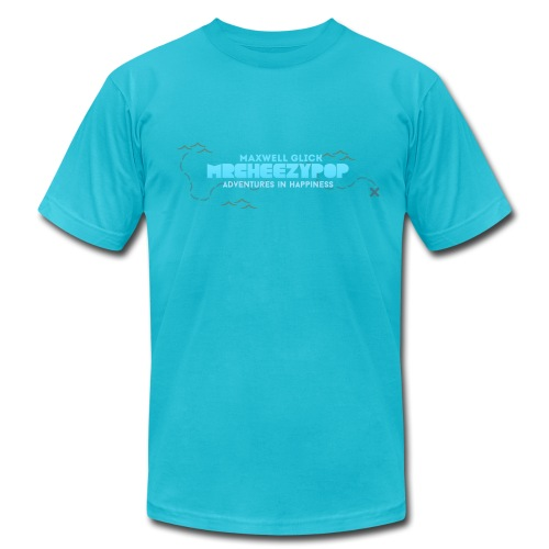 Men's mrcheezypop Adventures In Happiness American Apparel T-Shirt - Men's  Jersey T-Shirt
