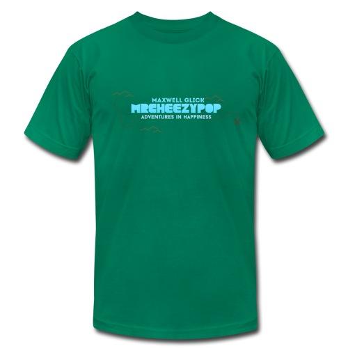 Men's mrcheezypop Adventures In Happiness American Apparel T-Shirt - Men's Fine Jersey T-Shirt