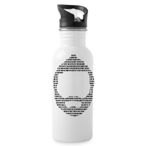 Bearded Nick Water Bottle  - Water Bottle