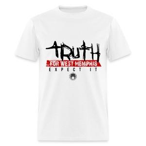 Truth for West Memphis White - Men's T-Shirt