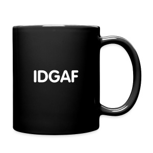 IDGAF mug - right - Full Color Mug