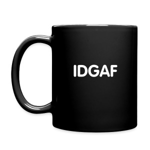 idgaf coffee mug left - Full Color Mug