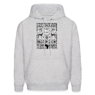 Hoodies ~ Men's Hoodie ~ Azawakh 'Best in Show' Hoodie