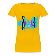 T-Shirts ~ Women's Premium T-Shirt ~ Lady Jazz