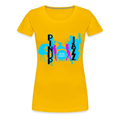 Lady Jazz - Women's Premium T-Shirt