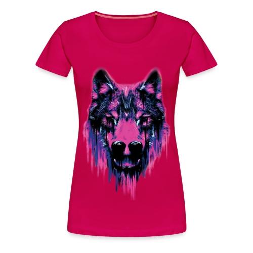 Camiseta Wolf - Feminina - Women's Premium T-Shirt