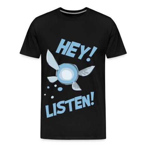 Camiseta Zelda - Hey Listen! - Men's Premium T-Shirt