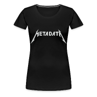 T-Shirts ~ Women's Premium T-Shirt ~ Ladies Metadata Shirt