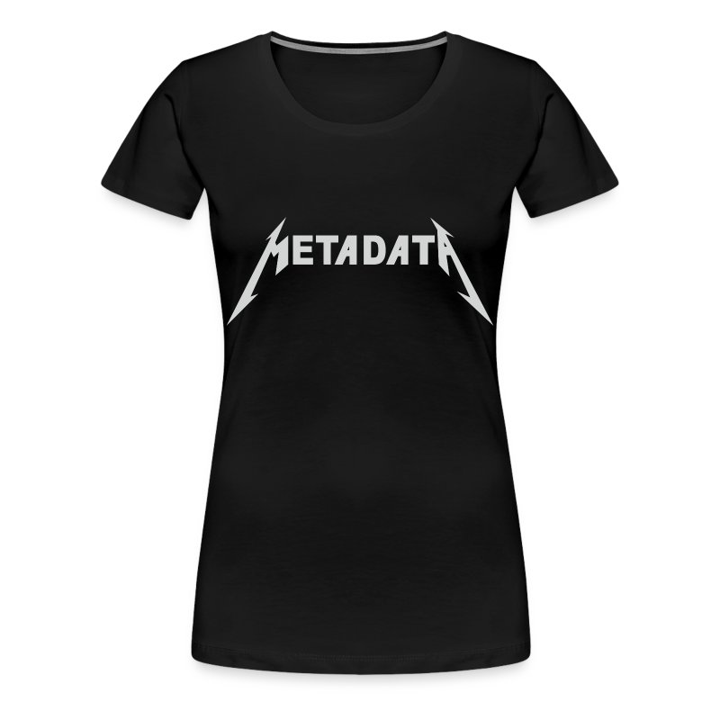 Ladies Metadata Shirt - Women's Premium T-Shirt