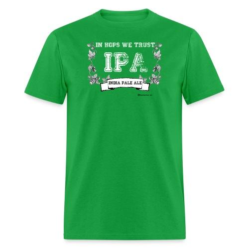 In Hops We Trust Men's T-Shirt - Men's T-Shirt