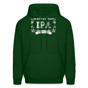 In Hops We Trust Men's Hooded Sweatshirt  - Men's Hoodie