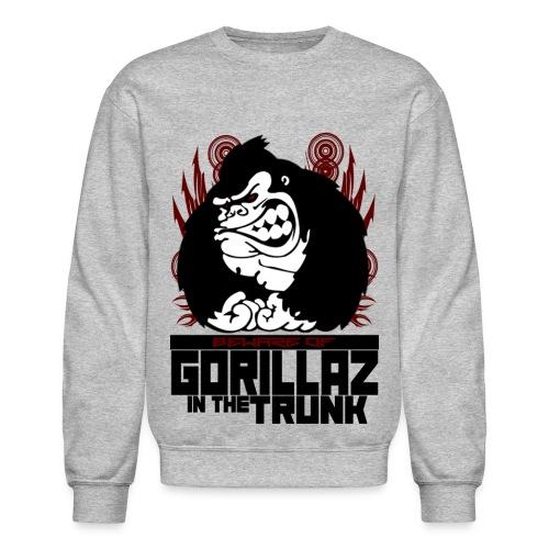 Gorillaz in the Trunk (Light Only) - Crewneck Sweatshirt