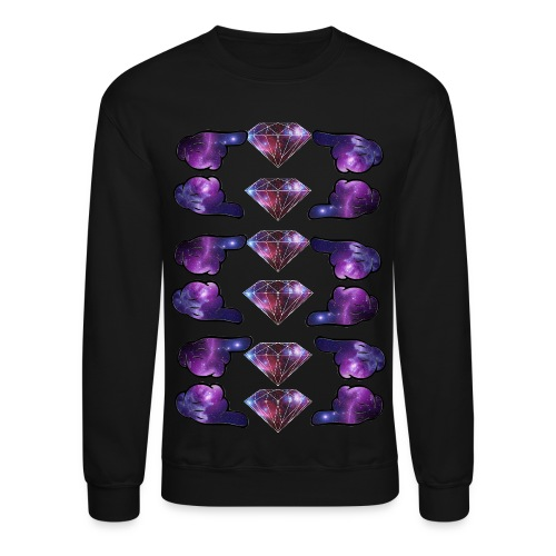 galaxy diamonds - Crewneck Sweatshirt