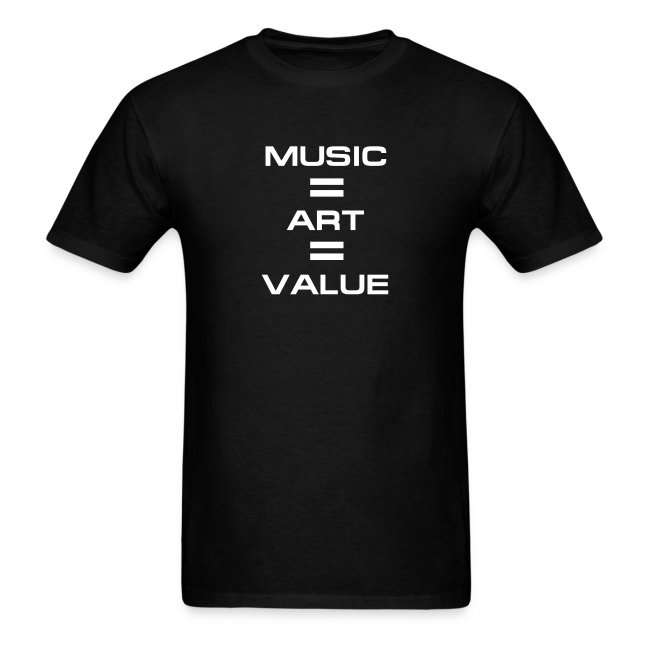 Music = Art = Value