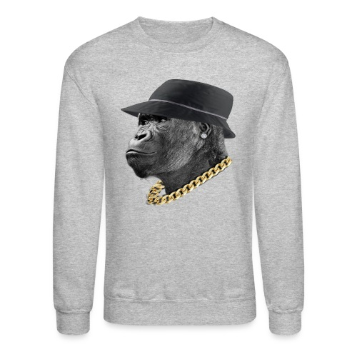 Chimp Crewneck - Crewneck Sweatshirt