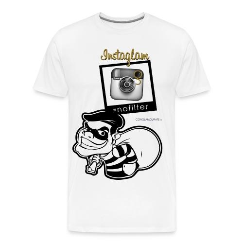 instagram jugg t-shirt - Men's Premium T-Shirt