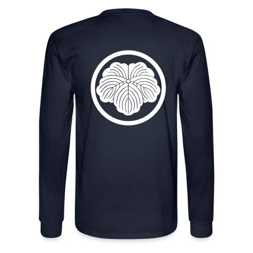 Mens L/S (White Mon) - Men's Long Sleeve T-Shirt