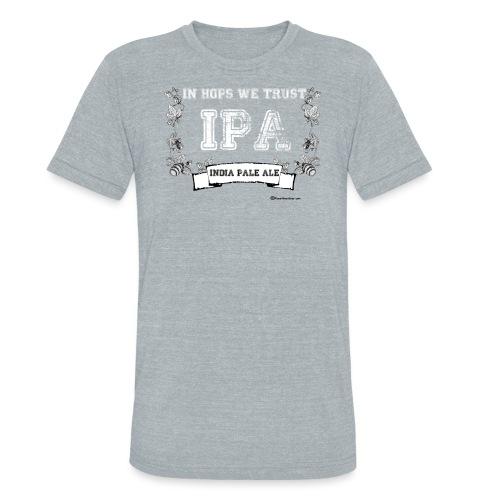 In Hops We Trust Unisex Tri-Blend T-Shirt - Unisex Tri-Blend T-Shirt