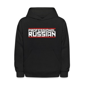 Kids Hooded Sweater: Pro Russian - Kids' Hoodie
