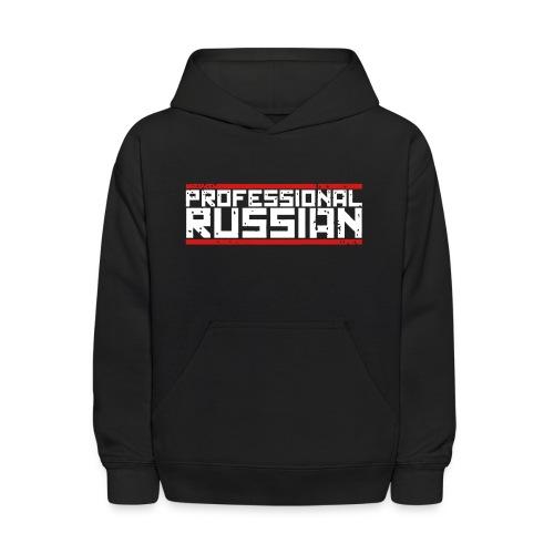 Kids Hooded Sweater: Pro Russian - Kids' Hoodie
