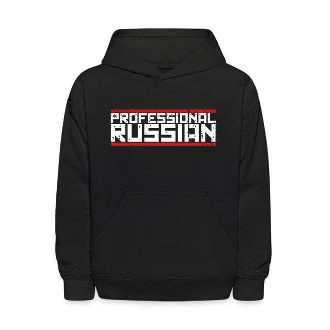 Kids Hooded Sweater: Pro Russian
