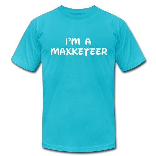 Men's I'm a Maxketeer American Apparel T-shirt White Font - Men's Jersey T-Shirt