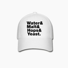 Beer | Water & Malt & Hops & Yeast. Caps