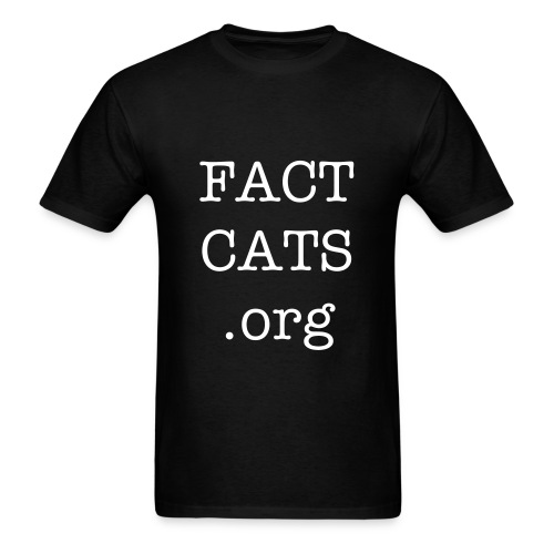 FACTCATS Mens T-Shirt - Men's T-Shirt