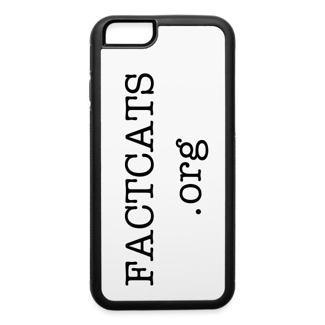 "FACTCATS iPhone 6 4.7"" Snap On Case Rubber/Metal"