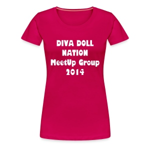 Diva Doll 2014 - Women's Premium T-Shirt