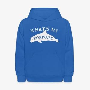 What's My Porpoise - Kids' Hoodie