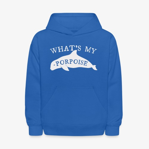What's My Porpoise - Kids' Hoodie