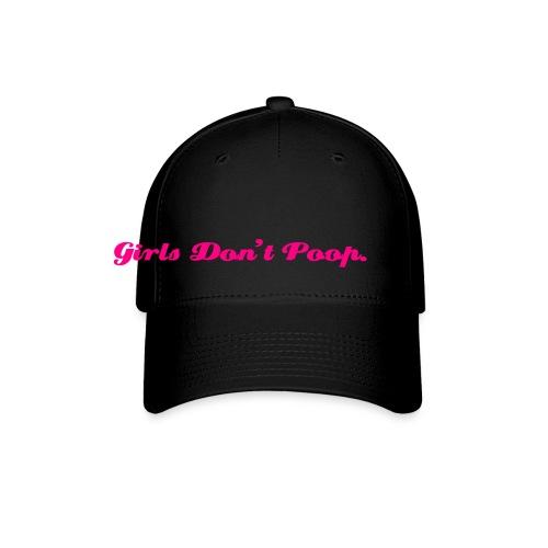 Girls Don't Poop Hat - Baseball Cap